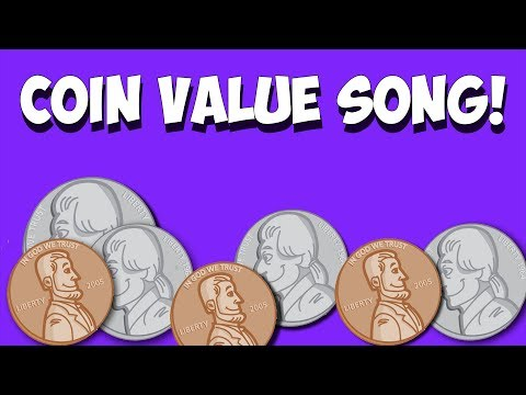 Coin Value Song- Pennies, Nickels, Dimes, Quarters!