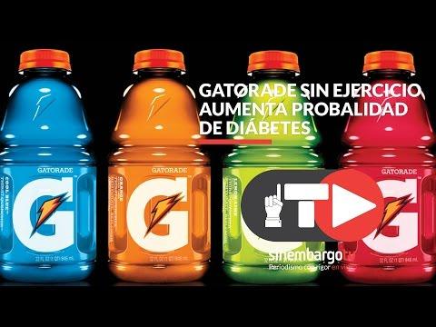 Gatorade sin ejercicio aumenta probalidad de diábetes- SinEmbargo TV