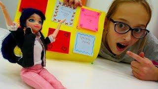 Видео для девочек с #Маринетт (мультик Леди Баг). ⌚️ КАК ВСЁ УСПЕВАТЬ? Делаем органайзер