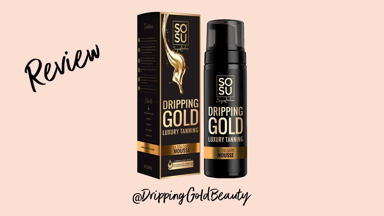 31fa3a3ddbf SOSU Dripping Gold ULTRA DARK review | Lauras Views - YouTube