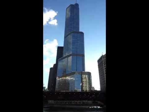 A view of the Trump International Hotel and Tower from the Chicago River 6.27.13