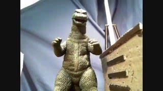 Godzilla VS Mechagodzilla: Cosmic Terror (Stop Motion Battle)