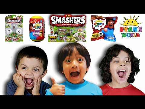 RYAN TOYSREVIEW TOYS AND SMASHING NEW SMASHERS💥