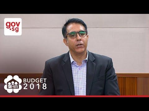 Exchange between MP Pritam Singh and Min Heng at 2018 Budget Debate