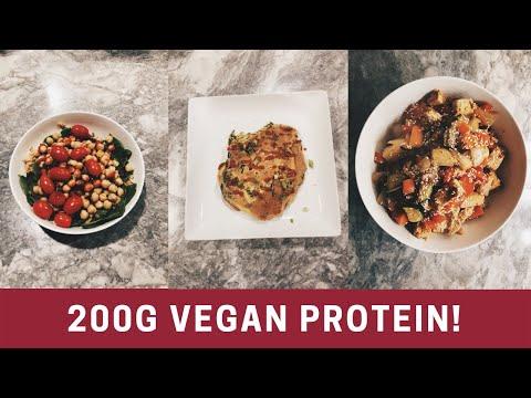 200 Grams Protein Vegan (What I Eat)