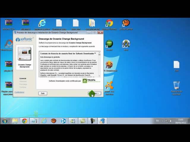 Descargar E Instalar Programa Para Cambiar Fondo De Pantalla De Windows 7 Starter Youtube