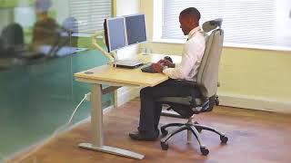DeskRite Sit Stand Height Adjustable Desks
