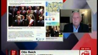 """Otto Reich considera """"difícil"""" que Maduro no sepa de lo que ocurre con """"cartel de los soles"""""""