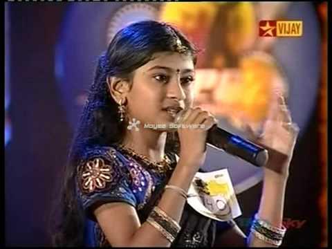 Airtel super singer nithyashree's rockin performances part 3