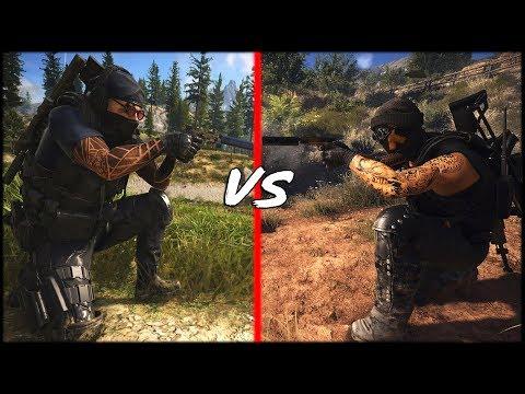 Ghost Recon - Stealth Kill Comparison - Breakpoint Vs Wildlands