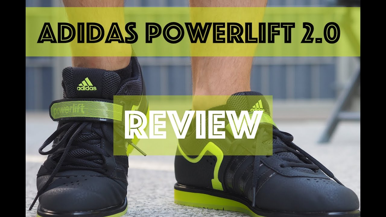 Adidas Powerlift 2 dark greysolar yellowcore black