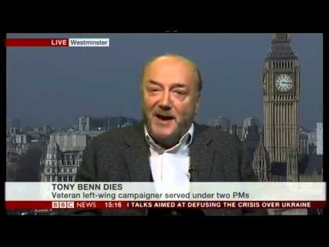 George Galloway on Death of Tony Benn