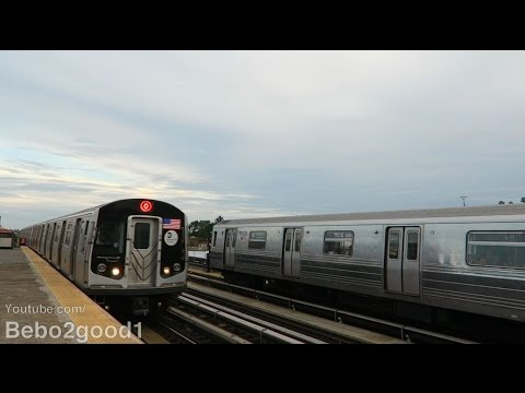 NYC Subway: IND/BMT (D) and (Q) [via West End] Trains at 50th St (Bklyn)