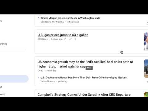 Stocks/Investing: May 21, 2018 M Business Headline Commentary