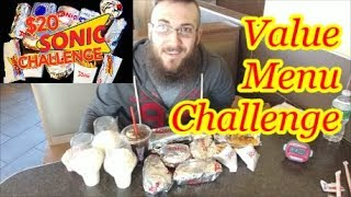 Video Sonic $20 Value Menu Challenge download MP3, 3GP, MP4, WEBM, AVI, FLV Juli 2018