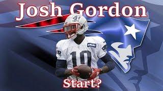 Should you start Josh Gordon in Fantasy Football?