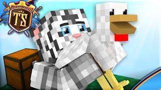 Min Nye Skyblock Ven Er En Kylling!   Ep 2   Skyblock M. Vercinger | Dansk Minecraft