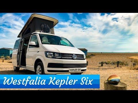 VW Camper Tour - Westfalia Kepler Six - Really Clever Design!