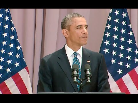 The President Speaks on the Iran Nuclear Deal at American University