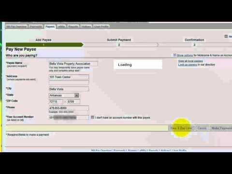 Bill Pay online with Wells Fargo