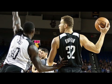 Blake Griffin Los Angeles Clippers Scrimmage Highlights. HoopJab NBA