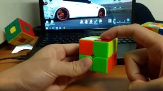 Сборка Кубика Рубика 2х2