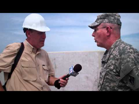 Part I: Fox 8 TV interviews USACE New Orleans Commander Col. Ed Fleming