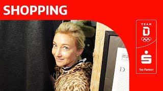 Olympiasiegerin Aljona Savchenko zur Shopping-Tour in Oberstdorf | Team Deutschland | PyeongChang
