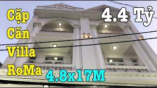 Bán Nhà Quận 12| Cặp Căn ROMA 4.7X17M, Ấn Tượng Tại Lê Văn Khương-Nguyễn Ảnh Thủ.P.Hiệp Thành.Q12