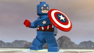 LEGO Marvel Super Heroes 2 - Captain America - Open World Free Roam Gameplay (PC HD) [1080p60FPS]