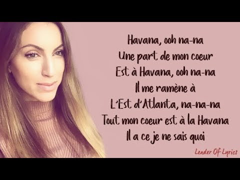 HAVANA (FRENCH VERSION) - CAMILA CABELLO (SARA'H COVER) (Lyrics / Paroles)