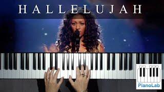 Hallelujah - Leonard Cohen - (Alexandra Burke version) - piano cover