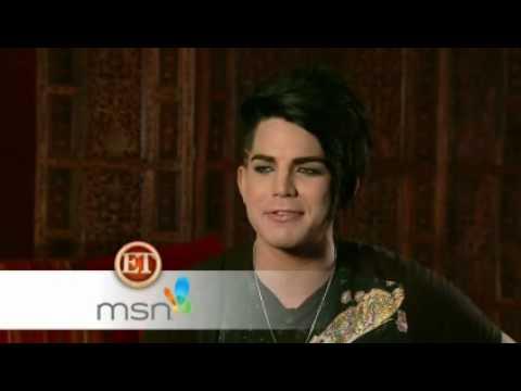 Download Youtube: Adam Lambert on ETOnline - interview posted on MSN