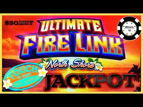 ?NEW SLOT! Ultimate Fire Link North Shore ?HIGH LIMIT $50 SPINS HANDPAY JACKPOT ? - 동영상