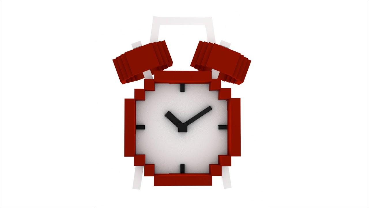 Minecraft Alarm Clock Rig C4d Download Free Youtube