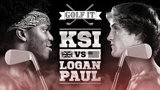 Golf It - KSI Vs Logan Paul Edition