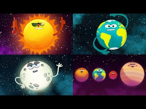 StoryBots Outer Space | Planets, Sun, Moon, Earth and Stars