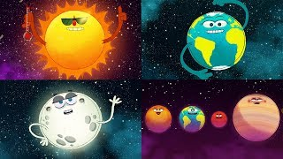 Download StoryBots Outer Space | Planets, Sun, Moon, Earth and Stars | Solar System Super Song | Fun Learning