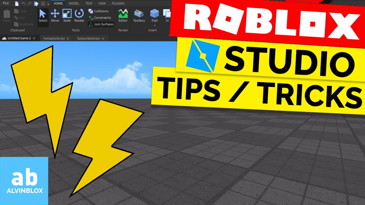 Roblox Creator Tips Top Roblox Studio Tips And Tricks 2020 Edition Youtube