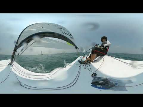 2019 RS Aero World Championship - Race 9, Part 1 of 5, 360 degree view w/Marc Jacobi