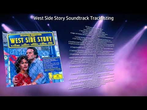 West Side Story Soundtrack Tracklisting By Leonard Bernstein