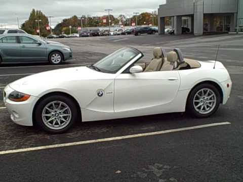 2004 Bmw Z4 2dr Roadster Youtube