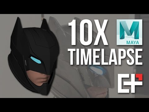 Batman Apokolips Helmet - 3D Modeling