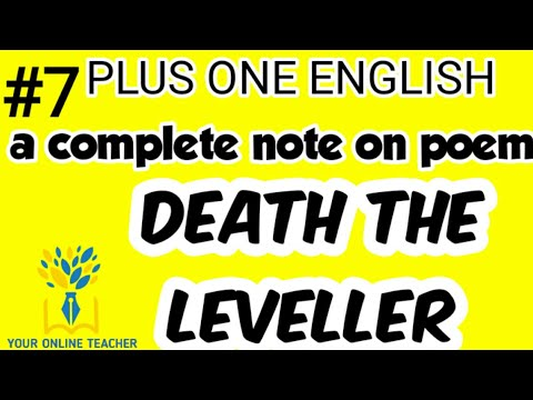 NOTES ON DEATH THE LEVELLER //PLUS ONE ENGLISH (2019) - YouTube