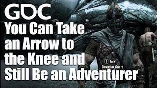 You Can Take an Arrow to the Knee and Still Be an Adventurer