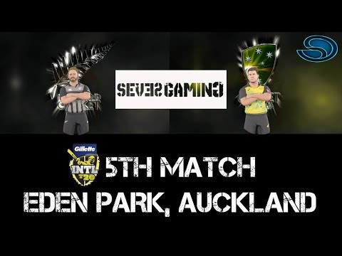 New Zealand Vs Australia T20 Match 5th highlights | Ashes Cricket 17 | Gameplay PC