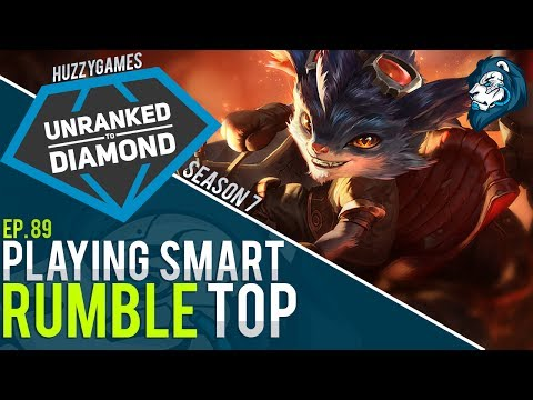 Playing Smart on RUMBLE - Unranked to Diamond - Episode 89