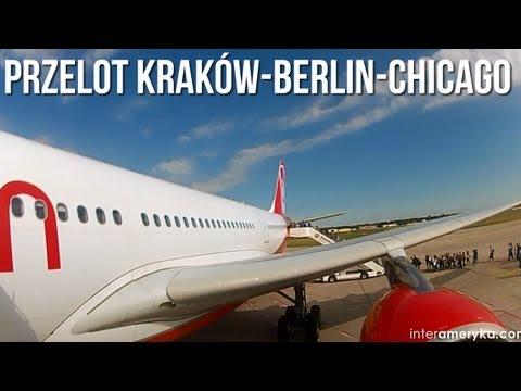 Lot do USA, czyli przelot do USA samolotem z Krakowa do Chicago