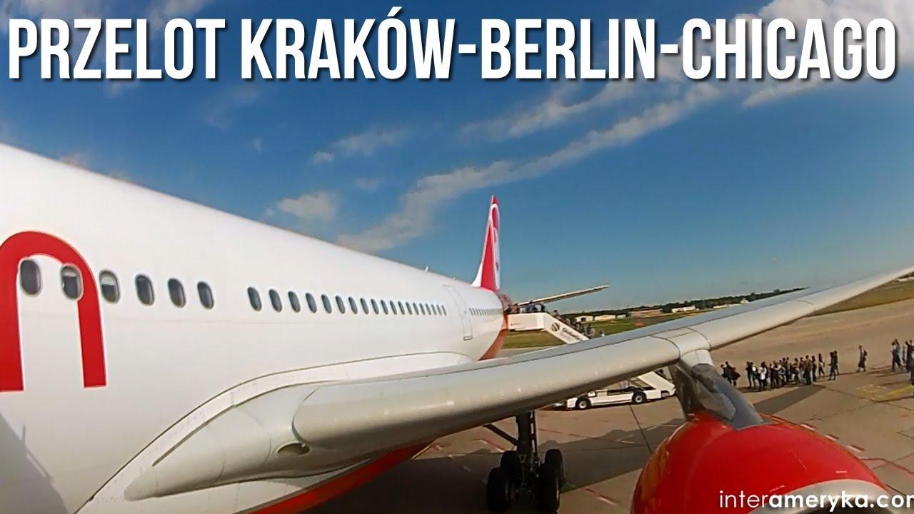 ????LOT do USA, czyli przelot do USA samolotem z Krakowa do Chicago
