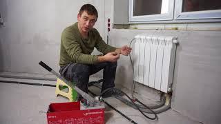 Опрессовка отопления и водоснабжения.
